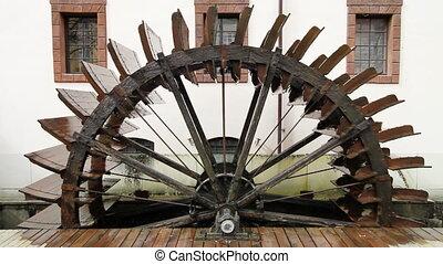 Watermill in Prague