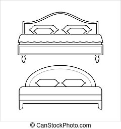 Double beds - furniture for bedroom