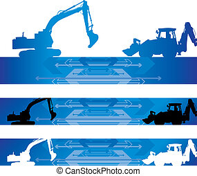 construction background - abstract construction