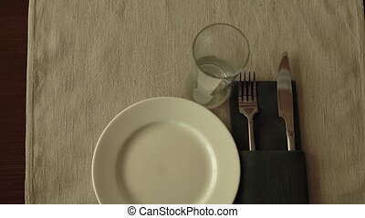beautifully decorated table setting