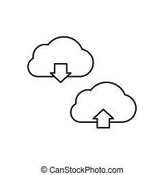 Cloud download data
