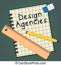Design Agencies Represents Creative Artwork 3d Illustration