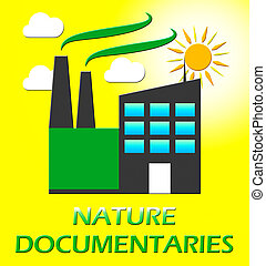 Nature Documentary Represents Environment Video 3d...