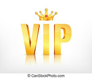VIP abstract background