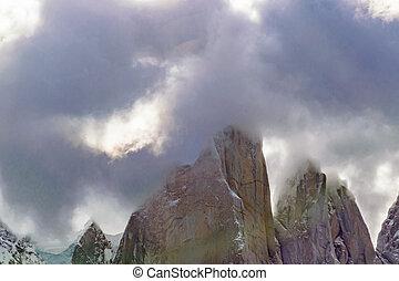 Laguna Torre, El Chalten, Argentina - Patagonia landscape...