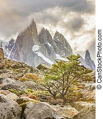Laguna Torre El Chalten Argentina - Patagonia landscape...