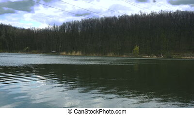 quiet beautiful Lake and forest day - quiet beautiful Lake...