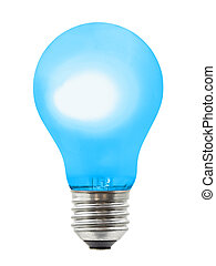 Blue lighting lamp