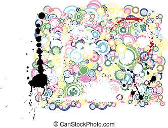 Lot of circles