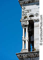 San Michele in Foro - Lucca Italy - Detail of the church of...