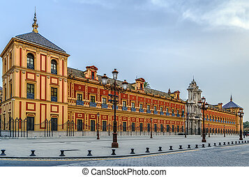 Palace of San Telmo, Seville, Spain - The Palace of San...