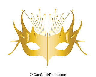 Mardi Gras, Masquerade Party Mask, vector file easy to edit.