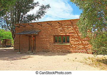 CCC Museum on La Posta Quemada Ranch in Colossal Cave...