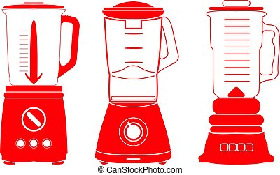 Blender. - Modern food blender design.