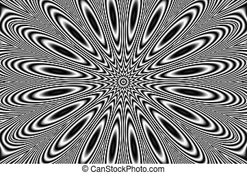 pulsar - Abstract image - oscillating chaos - vibrating star...