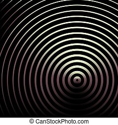 imaginative abstract circles background - design of...