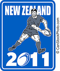 Rugby player New Zealand  2011