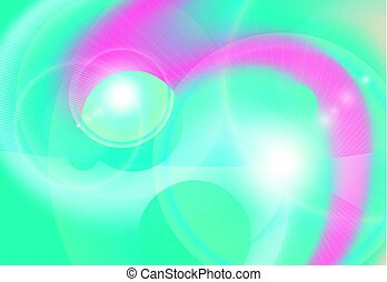 abstract bright energy vector background