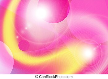 background yellow pink vector