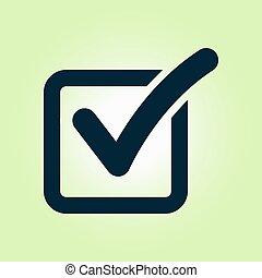 Check box icon.