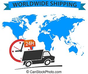 Worldwide Delivery truck 24h - Delivery truck 24h,...