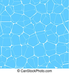 Pool water texture - fresh blue background