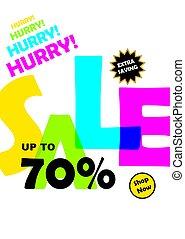 Big offer sale banner
