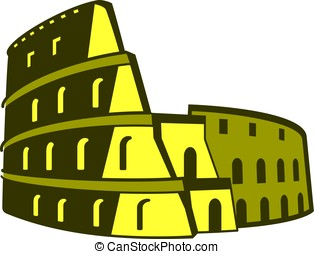 Colosseum, famous Landmark of the world series