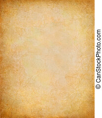 Paper Background - Old vintage paper with subtle cracks and...