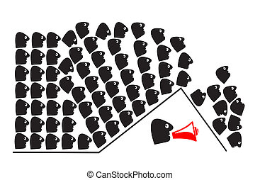 Human Herd Instinct - People following the majority without...