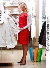 Pleasant shopping