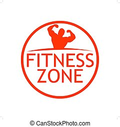 Fitness Zone Sign