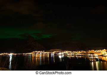 Aurora Borealis, Norway - Northern light, photo taken at...