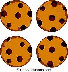 Cookies - vector cookies