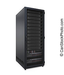 Computer Network Server Isolated - Computer Network Server...