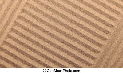 Beautiful lighting effects. Rotation sand in the form of a lines.