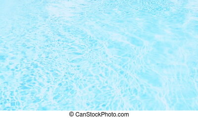Pool water surface - Shiny blue water background, Pool water...