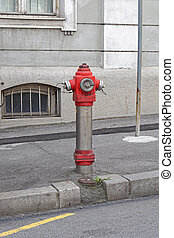 Hydrant - Water hydrant pipe at street