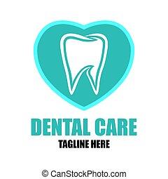apartamento,  dental, odontologia,  /, Clínica, vetorial, Ilustração, dentes, logotipo,  stomatologist
