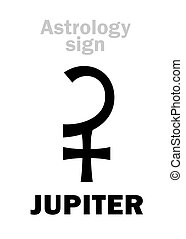 Astrology: planet JUPITER - Astrology Alphabet: JUPITER,...