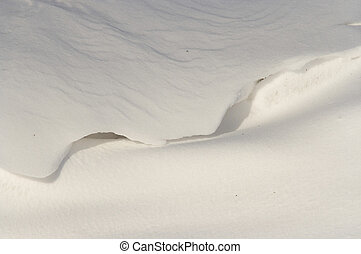 snowdrift - Abstract image of the snowdrift