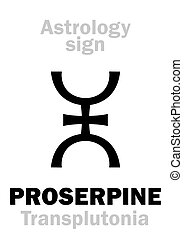 Astrology: supreme planet PROSERPINE - Astrology Alphabet:...