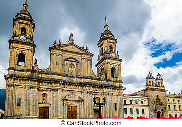 Cathedral of Bogota in Colombia