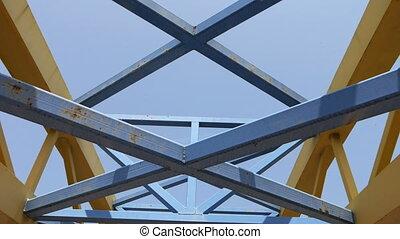Bridge Construction against sky