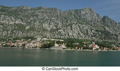 "City ""Dobrota"" in the Bay of Kotor"
