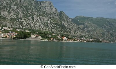 "City ""Dobrota"" in the Bay of Kotor - City Dobrota in the Bay..."