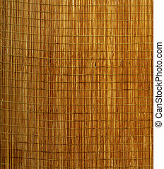 Mat - Background of little wooden mat for food