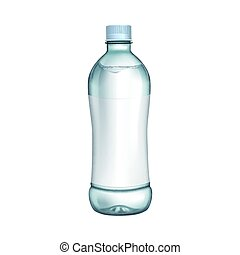 bottle with white label