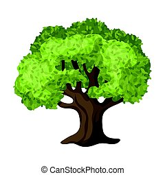 Olive Tree.Olives single icon in cartoon style vector symbol...