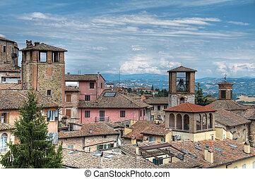 View of Perugia. Umbria.